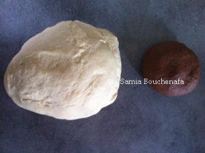 pate blanche et cacao brioche leopard