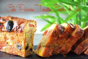 cake maïs poivrons tomate