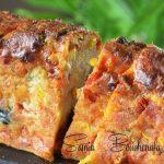 cake-salé-poivron-maïs-tomate