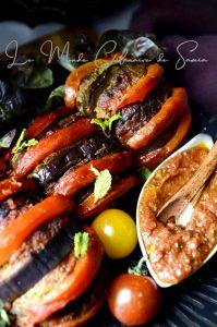 aubergine farcie a la libanaise
