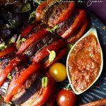 aubergines au four farcies