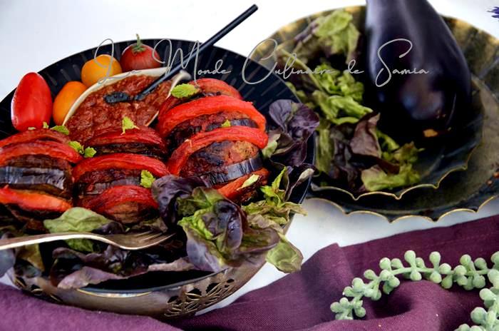 aubergines farcies recette