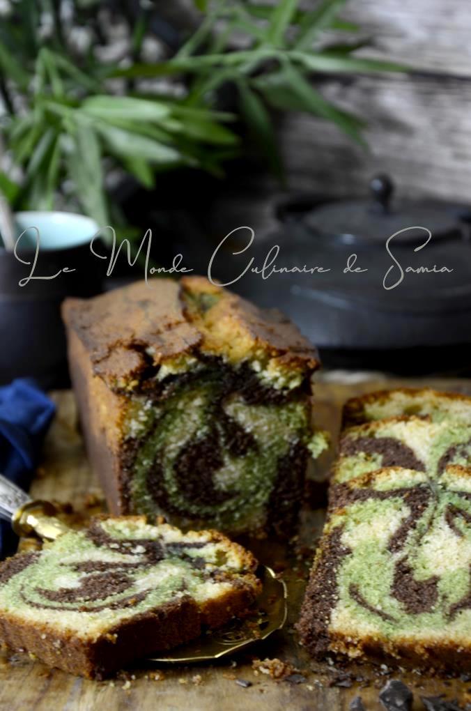 recette cake marbré moelleux aux 3 parfums