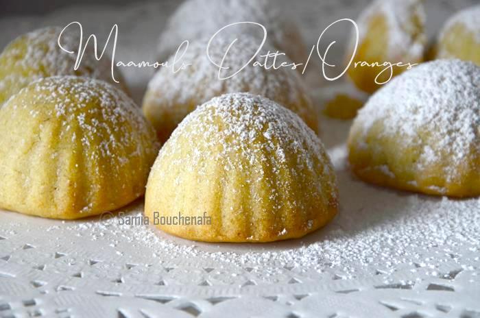 recette maamouls dattes orange