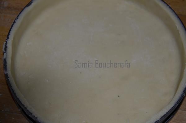 pâte sablée amandes
