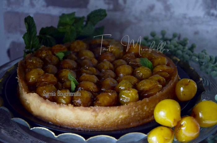 tarte aux mirabelles fraîches
