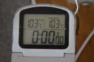 température cuisson confiture