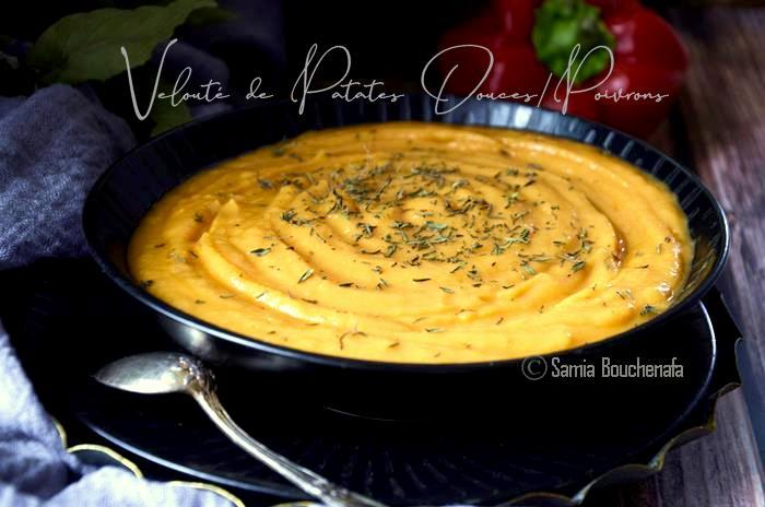 velouté-de-patates-douces-et-poivrons-rouges