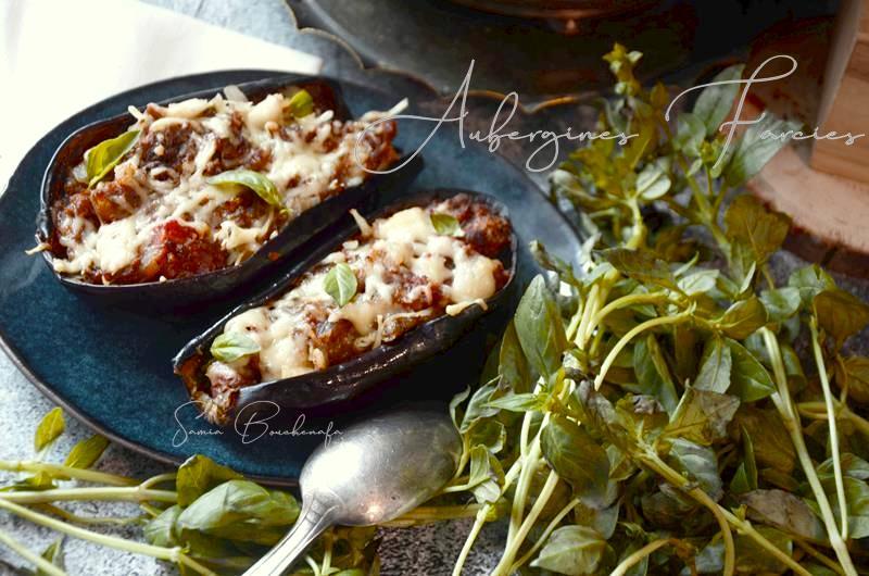 aubergine viande tomate fromage