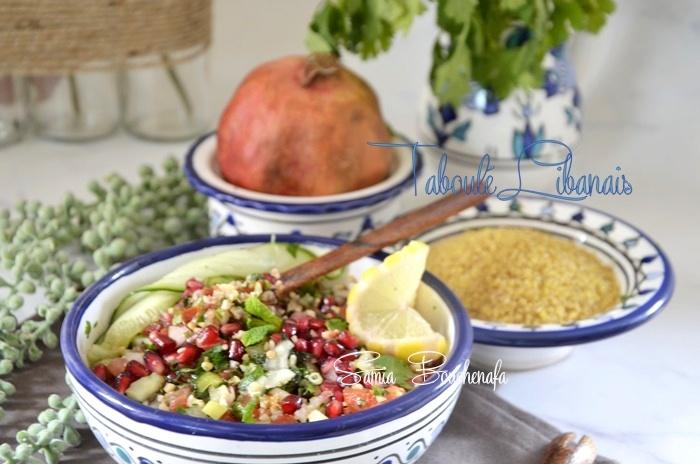 recette tabolé libanais