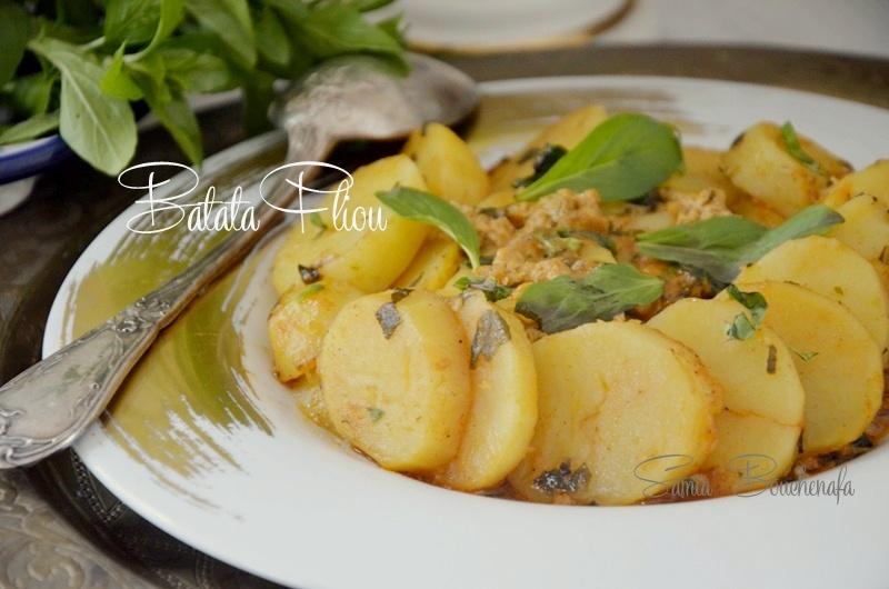 ragout de pommes de terre menthe pouliot