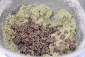 pate a cookies pistache chocolat lait