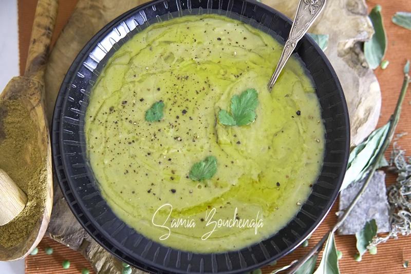 soupe aux pois cassés algérienne